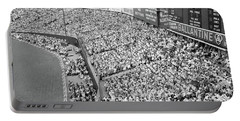 1940s 1950s Large Crowd Yankee Stadium Portable Battery Charger