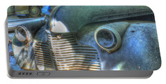 1940s Antique Chevrolet Hood View Portable Battery Charger