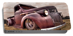 1941 Rusty Chevrolet Portable Battery Charger