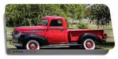 1946 Chevy Pickup Portable Battery Charger by E Faithe Lester