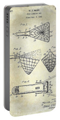 1947 Fishing Net Patent  Portable Battery Charger