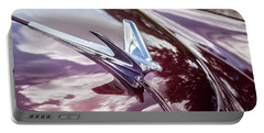 1950 Chevrolet Hood Ornament Portable Battery Charger