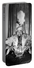 1950s Portrait Man Soothsayer Swami Portable Battery Charger