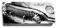 1951 Buick Super Digital Art Portable Battery Charger