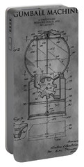 1952 Gumball Machine Patent Portable Battery Charger