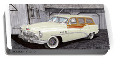 1953 Buick Estate Wagon Woody Portable Battery Charger