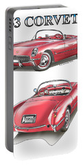 1953 Corvette Portable Battery Charger