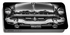 Portable Battery Charger featuring the photograph 1953 Lincoln - Capri by Steven Milner