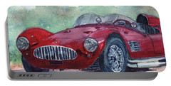 1954 Maserati A6 Gsc Tipo Mm Portable Battery Charger by Anna Ruzsan