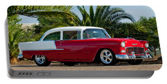 1955 Chevrolet 210 Portable Battery Charger by Jill Reger