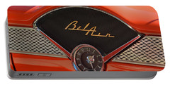 1955 Chevy Bel Air Dashboard Clock Portable Battery Charger