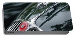 Jaguar Xk 150 Hood Ornament  Portable Battery Charger