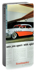 1956 - Buick Roadmaster Convertible - Advertisement - Color Portable Battery Charger