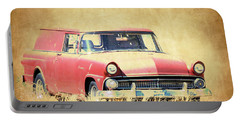 1956 Ford Sedan Delivery Portable Battery Charger