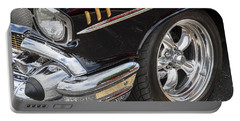 1957 Chevrolet Bel Air Beauty Portable Battery Charger