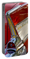 1957 Chevrolet Belair Taillight Portable Battery Charger by Jill Reger