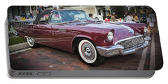 1957 Ford Thunderbird Convertible  Portable Battery Charger