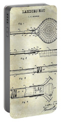 1957 Landing Net Patent Drawing Portable Battery Charger