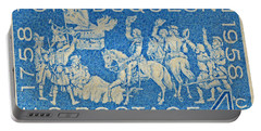 1958 Battle Of Fort Duquesne Stamp Portable Battery Charger by Bill Owen