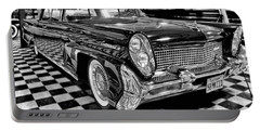 1958 Lincoln Continental Mk IIi Portable Battery Charger by Michael Gordon