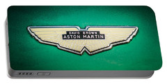 1959 Aston Martin Db4 Gt Hood Emblem -0127c Portable Battery Charger