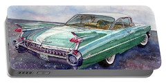1959 Cadillac Cruising Portable Battery Charger