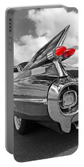 1959 Cadillac Tail Fins Portable Battery Charger