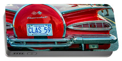 1959 Impala Convertible 2 Portable Battery Charger