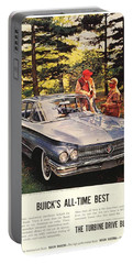 1960 - Buick Lesabre Sedan Advertisement - Color Portable Battery Charger