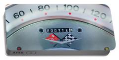 1960 Chevrolet Corvette Speedometer Portable Battery Charger