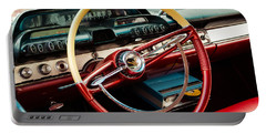 1960 Desoto Fireflite Coupe Steering Wheel And Dash Portable Battery Charger