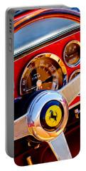 1960 Ferrari 250 Gt Cabriolet Pininfarina Series II Steering Wheel Emblem -1319c Portable Battery Charger
