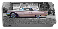 1960 Thunderbird Bw Portable Battery Charger