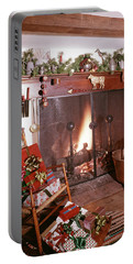 1960s Early American Style Christmas Portable Battery Charger