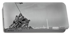 1960s Marine Corps Monument Portable Battery Charger