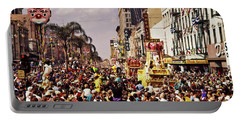 1960s Rex Parade On Canal Street Mardi Portable Battery Charger