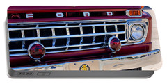 1965 Ford American Lafrance Fire Truck Portable Battery Charger