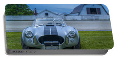 1965 Ford Shelby Cobra American Roadster Portable Battery Charger by Ken Morris