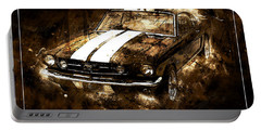 1965 Ford Shelby Mustang Gto-350 #5 Portable Battery Charger