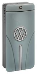 1965 Volkswagen Beetle Hood Emblem Portable Battery Charger