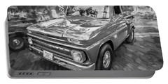 1966 Chevy C10 Pick Up Truck Painted Bw Portable Battery Charger