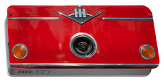 1966 International Harvester Pumping Ladder Fire Truck - 549 Ford Gas Motor Portable Battery Charger by Jill Reger
