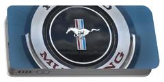 1966 Shelby Gt 350 Emblem Gas Cap Portable Battery Charger