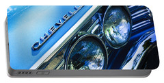 1967 Chevrolet Chevelle Malibu Head Light Emblem Portable Battery Charger