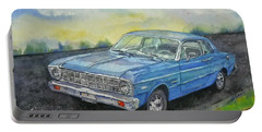 1967 Ford Falcon Futura Portable Battery Charger by Anna Ruzsan