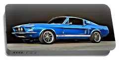 1967 Shelby Mustang Gt500 Portable Battery Charger