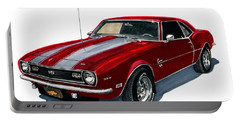 1968 Camaro S S 350 Portable Battery Charger