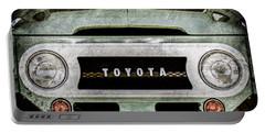 1969 Toyota Fj-40 Land Cruiser Grille Emblem -0444ac Portable Battery Charger