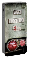 1969 Toyota Fj-40 Land Cruiser Taillight Emblem -0417ac Portable Battery Charger