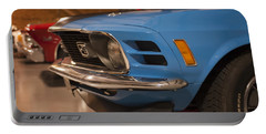 1970 Mustang Mach 1 And Other Classics Hidden In A Garage Portable Battery Charger